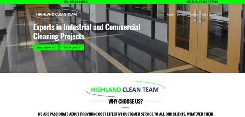 Highland-Clean-Team